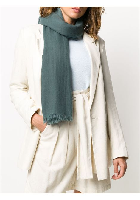Dark green Due Duecento 140x140 cashmere scarf   DESTIN |  | DUE DUECENTOX5