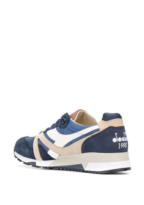 Navy and multicolour leather N9000 low-top sneakers DIADORA |  | 172782-N9000 H ITA60033