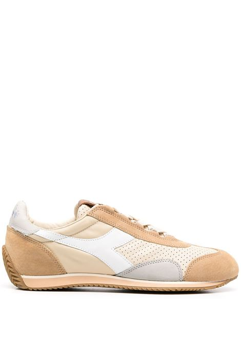 Beige leather Equipe Italia sneakers  featuring colour-block panelled design DIADORA |  | 176046-EQUIPE ITALIA25020
