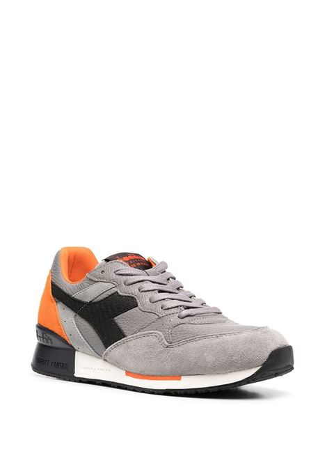 Grey and orange leather Intrepid Diablo sneakers   DIADORA |  | 176581-INTREPID DIABLO75073