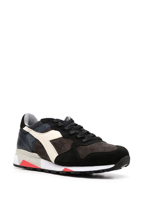 Sneaker Trident 90 in camoscio nero con design a pannelli color block DIADORA |  | 176592-TRIDENT 90 LEATHER80001