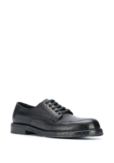black leather derby lace-up shoes  DOLCE & GABBANA |  | A10638-AW35280999