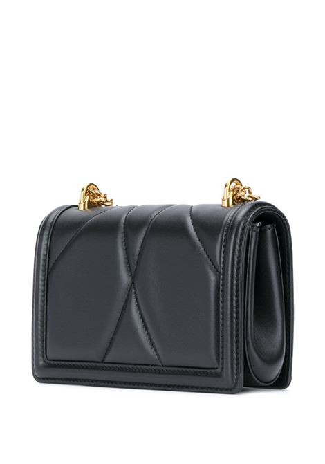 black lamb leather matellassè effect Devotion cross-body bag DOLCE & GABBANA |  | BB6880-AV96780999