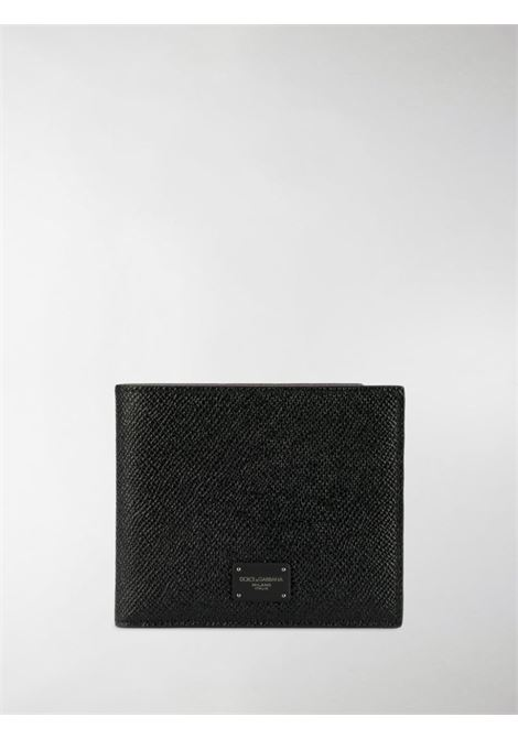 black saffiano calf-leather wallet DOLCE & GABBANA |  | BP1321-AZ60280999