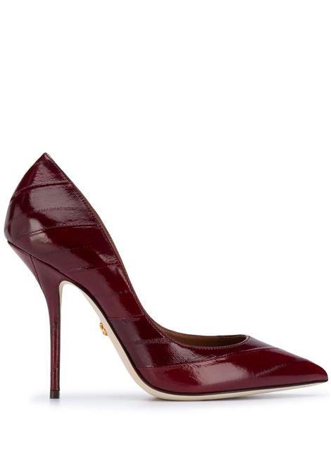 Blood-red eel leather pointed-toe pumps DOLCE & GABBANA |  | CD1523-A8M2480304