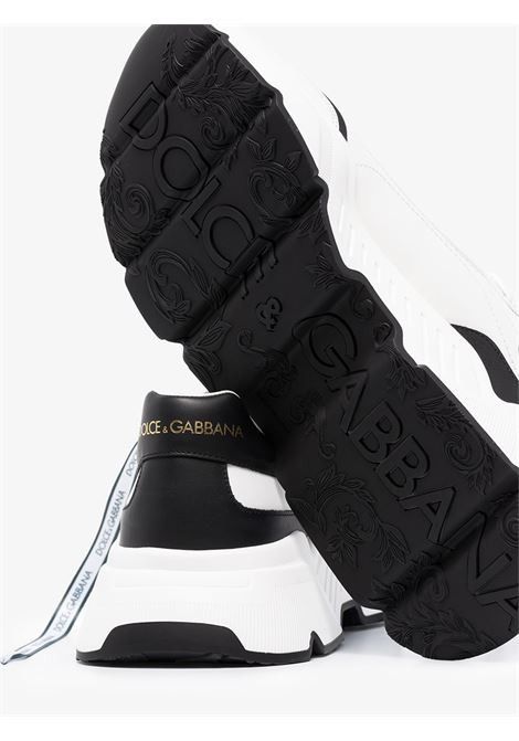 white and black Day Master leather chunky sneakers DOLCE & GABBANA |  | CS1791-AX58989697