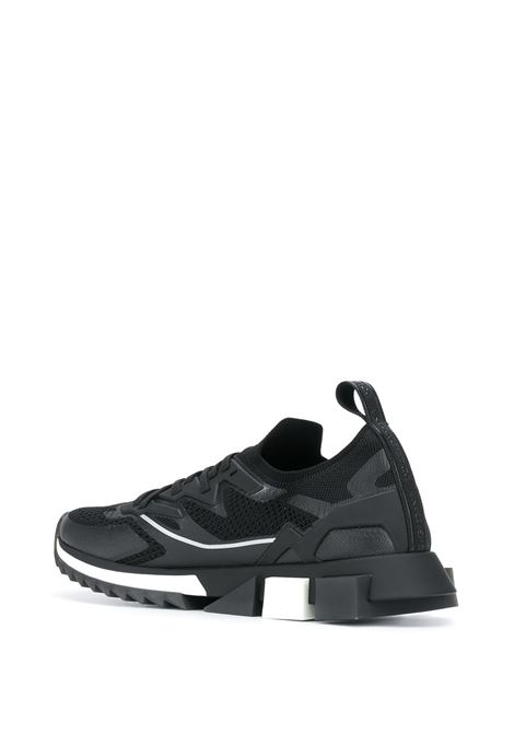 Black and white Sorrento low-top sneakers  DOLCE & GABBANA |  | CS1822-AW47689690