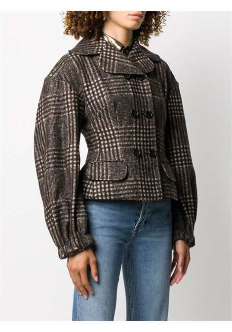 brown alpaca wool tweed check jacket DOLCE & GABBANA |  | F25ADT-FQMHZS8100