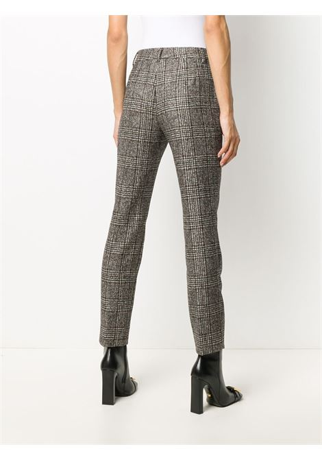 slim-fit brown Prince of Wales checked pants DOLCE & GABBANA |  | FTAMUT-FQMIBS8100
