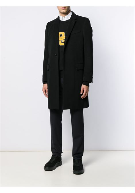 black wool and cashmere blend single-breasted tailored coat DOLCE & GABBANA |  | G007ST-FU2Z0N0000