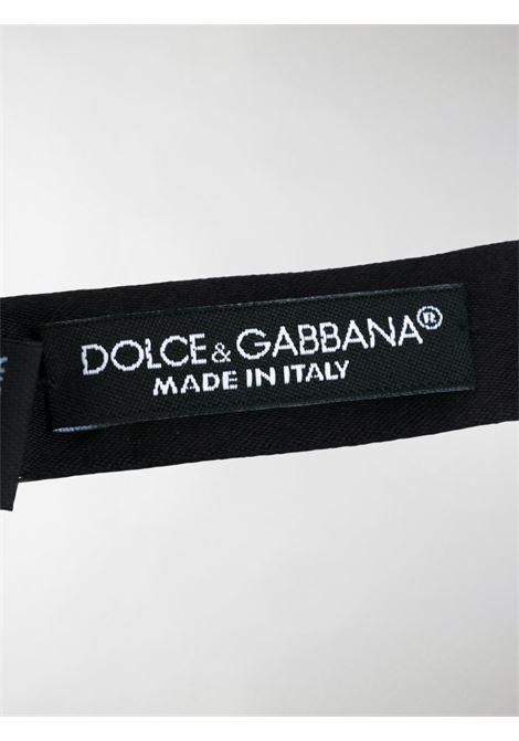 papillon classico in seta nera DOLCE & GABBANA | Papillon | GR053E-G0U05N0000