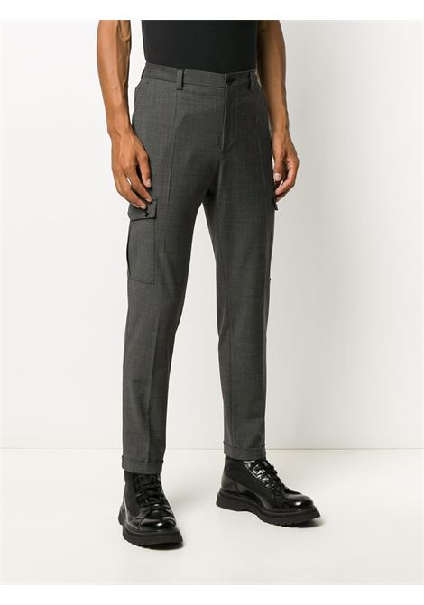 grey wool slim fit mid rise cargo pants DOLCE & GABBANA |  | GWQ1ET-FMRA4S8030