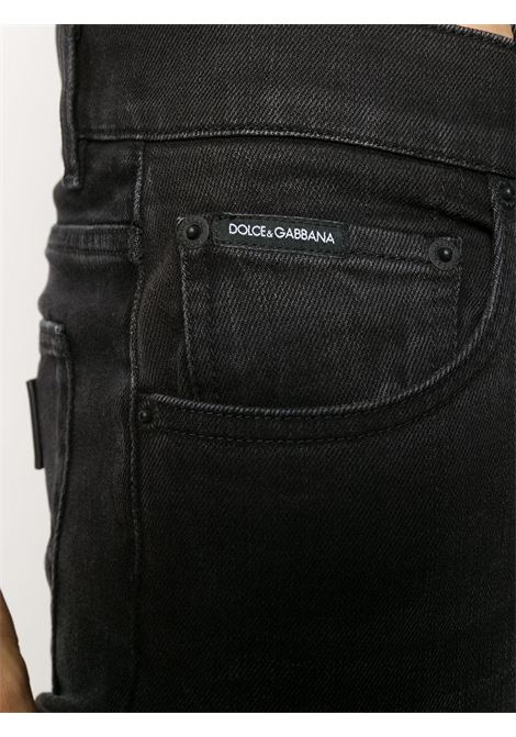 black slim-fit stretch denim jeans  DOLCE & GABBANA |  | GY07LD-G8CO2S9001