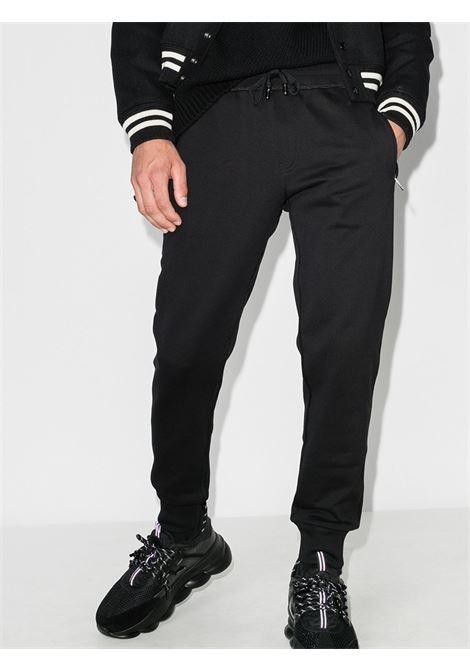 black cotton slim-fit track pants with back Dolce & Gabbana logo DOLCE & GABBANA      GYWDAT-FU7DUN0000
