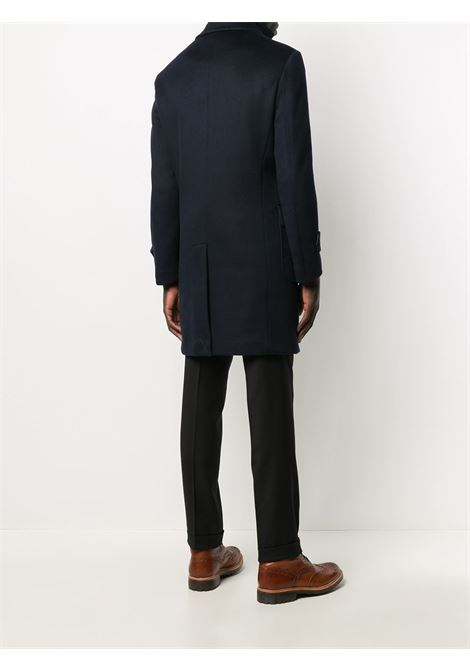 Blue wool long-sleeved layered zipped coat   ELEVENTY |  | B70CAPB05-TES0B12311