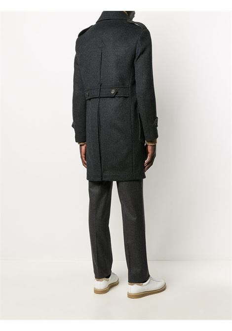 Grey wool double-breasted buttoned up coat   ELEVENTY |  | B70CAPB07-TES0B12314