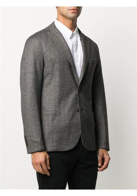 Grey wool blend herringbone pattern blazer ELEVENTY |  | B70GIAA01-TES0B11510