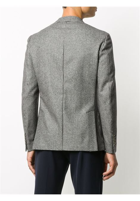 giacca monopetto grigia a quadri in lana ELEVENTY | Giacche | B70GIAA05-TES0B03315