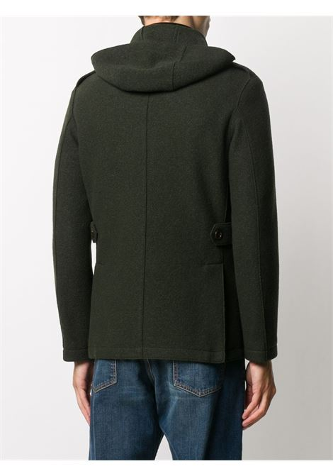 Military green virgin wool zipped utility pocket jacket   ELEVENTY |  | B70GIAB02-CAS2400420