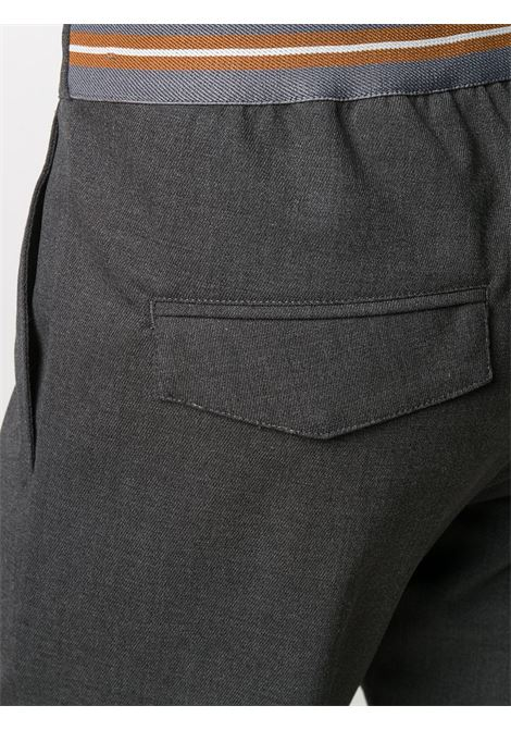 Grey mix wool blend drawstring tailored trousers  ELEVENTY |  | B70PANB01-TES0B10414