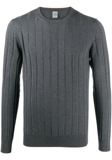 Medium grey wool fine-knit ribbed wool jumper   ELEVENTY |  | B71MAGB20-MAG0B04315-04A
