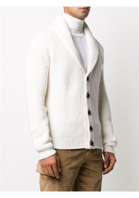 Cardigan in lana color panna ELEVENTY | Cardigan | B71MAGB35-MAG0B02301