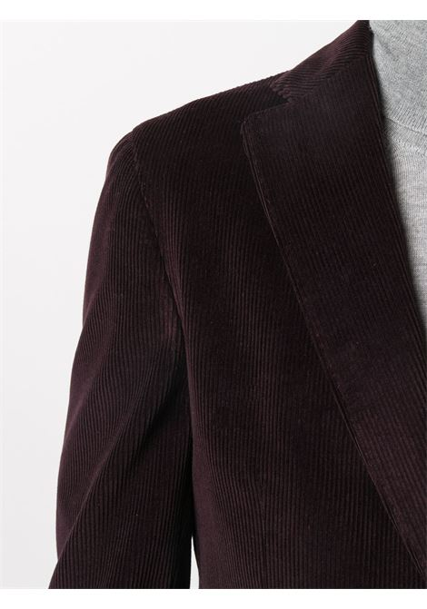 Purple cotton jacket featuring notched lapels ELEVENTY |  | B75GIAA02-JAC2800110