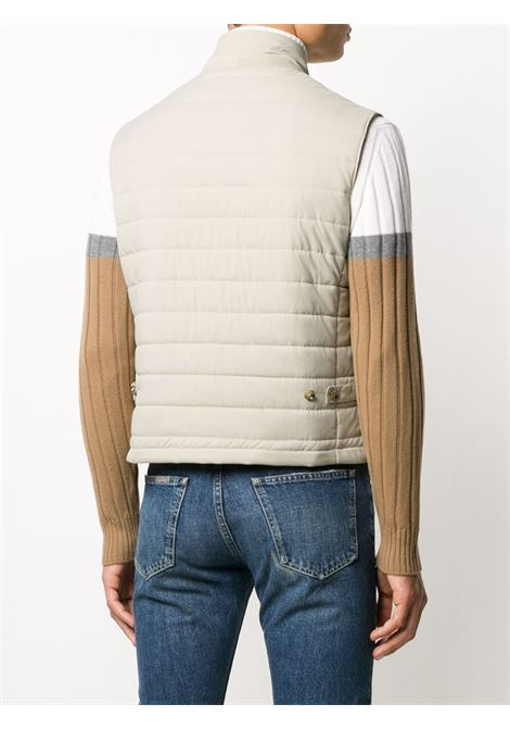 beige quilted gilet ELEVENTY |  | B75GILB01-NYL0A01502
