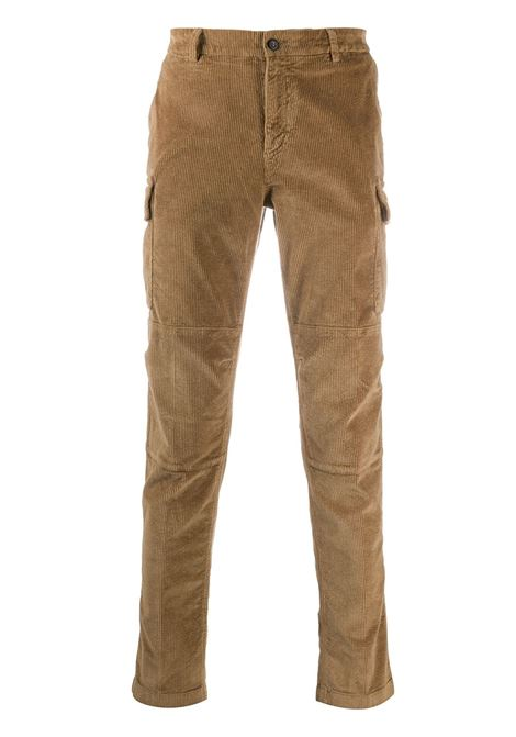 Camel cotton blend trousers featuring corduroy ELEVENTY |  | B75PANB03-TET0B00204