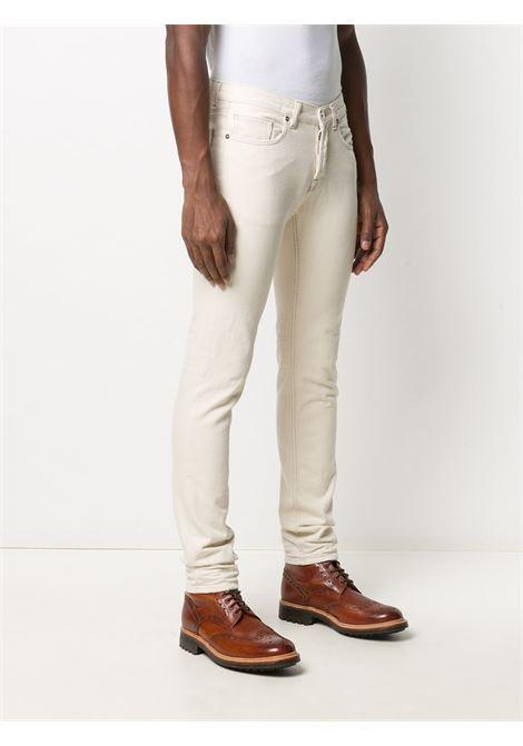 Pantaloni bianchi 100% cotone a gamba dritta ELEVENTY | Pantaloni | B75PANB11-TET0B02201