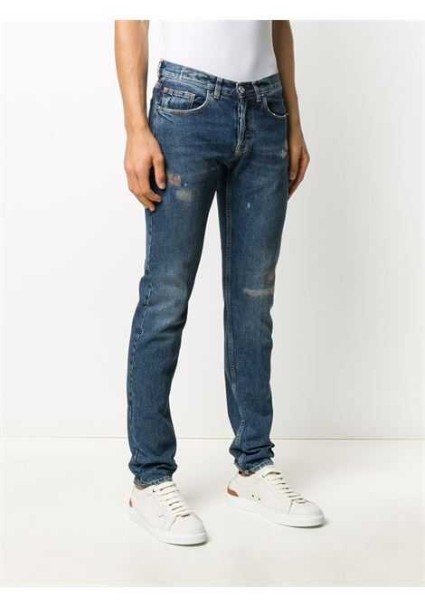 distressed slim fit denim jeans  ELEVENTY |  | B75PANB16-TET0B02808