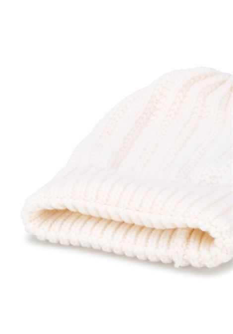 wool cream colored knitted beanie hat ELEVENTY |  | B76CLPB01-MAG0B00201
