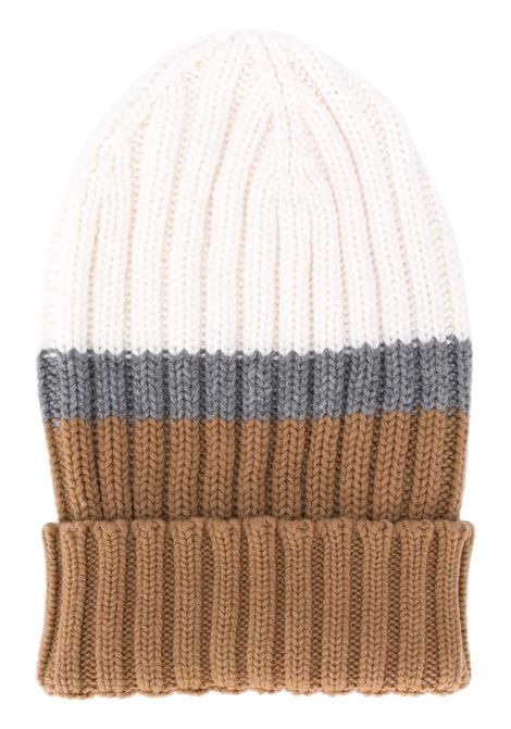multicolored long wool beanie hat ELEVENTY |  | B76CLPB02-MAG0B00501-14
