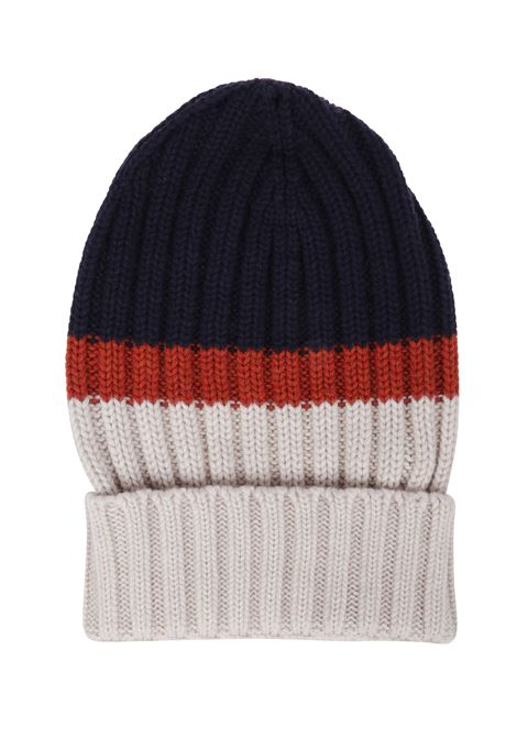 wool colour block long beanie ELEVENTY |  | B76CLPB02-MAG0B00511-40