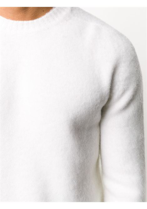 White wool fitted jumper featuring ribbed edge ELEVENTY |  | B76MAGB47-MAG0B06201