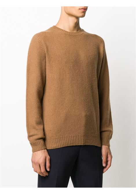 Brown 100% wool long sleeve jumper ELEVENTY |  | B76MAGB47-MAG0B06204