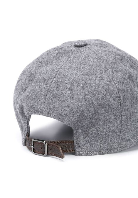 grey cotton wool effect baseball hat  ELEVENTY |  | B77CLPB02-TES0B13406
