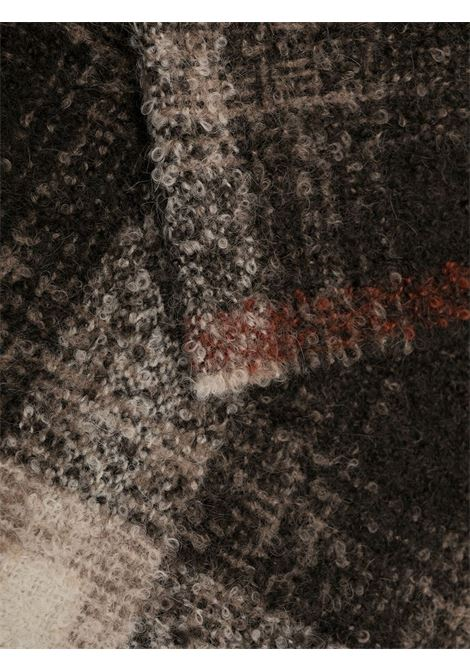 tonal brown and beige 38x200 alpaca-wool scarf  ELEVENTY |  | B77SCIB12-TES0B19511