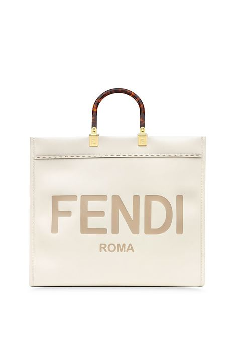 White calf leather large Sunshine tote bag FENDI |  | 8BH372-ABVLF0K7E