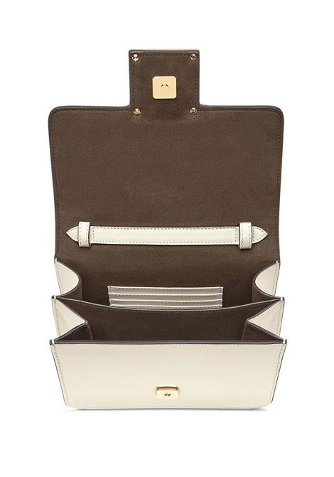 White calf leather Fendi Fab crossbody bag featuring crystal embellishment FENDI |  | 8BT326-AAIWF0K7E