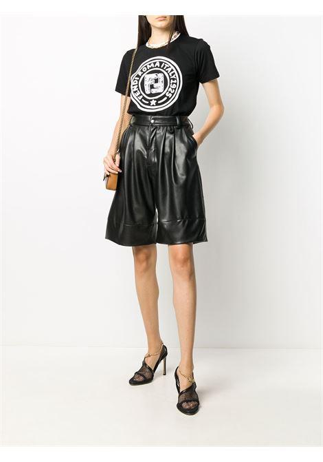 T-shirt Joshua Vides x Fendi della collezione California in cotone bianco e nero FENDI | T-shirt | FS7254-AC6EF0GME