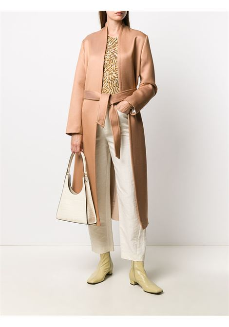 Blush cotton and wool blend long-sleeve coat   FORTE_FORTE |  | 7504BLUSH
