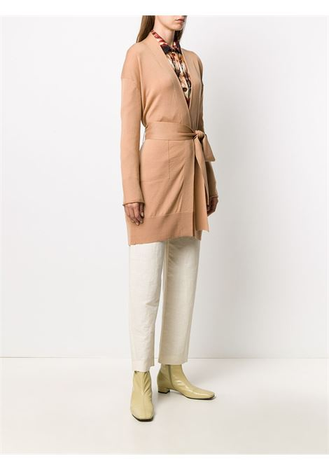 Beige 100% wool long-line cardigan featuring shawl lapels FORTE_FORTE |  | 7615CAMMELLO