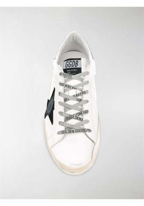 White calf leather Superstar sneakers featuring black star patch to the sides GGDB |  | GMF00102-F00062510347