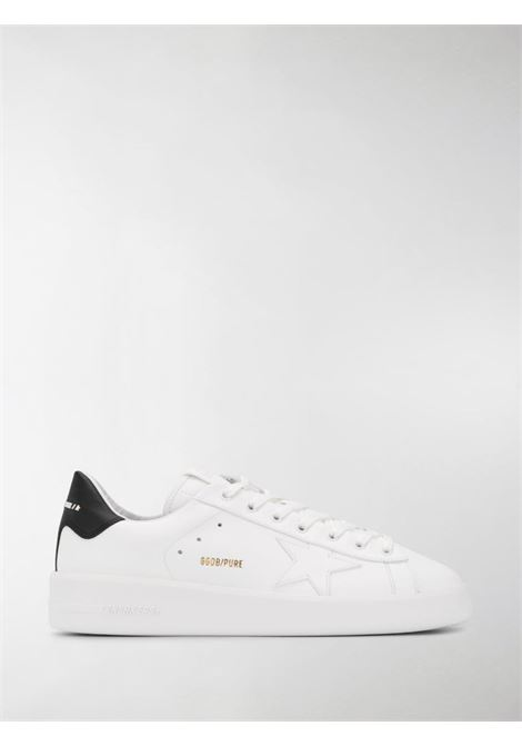 White leather and fabric-blend Superstar lace-up trainers GOLDEN GOOSE |  | GMF00124-F00053710283