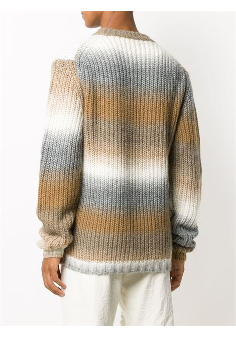 Neutrals wool, acrylic and alpaca ombré stripe knit jumper GOLDEN GOOSE |  | GMP00538-P00016655164