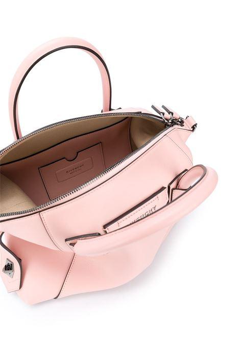 Tote bag piccola Antigona Soft in pelle di vitello rosa pastello GIVENCHY | Borse a mano | BB50F3B0WD-ANTIGONA SOFT662