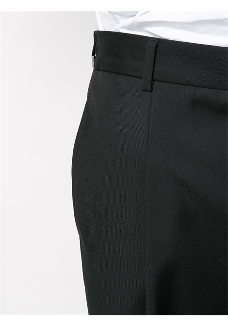 black cotton and wool classic tailored trousers  GIVENCHY |  | BM50KY1Y8K001