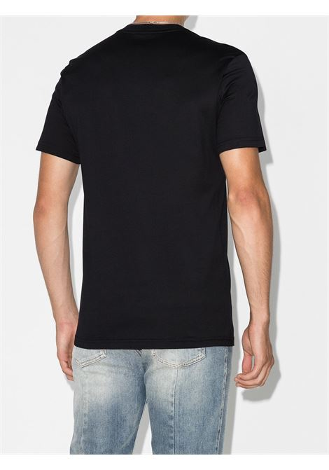 t-shirt con stampa logo Givenchy in cotone nero GIVENCHY | T-shirt | BM70K93002001