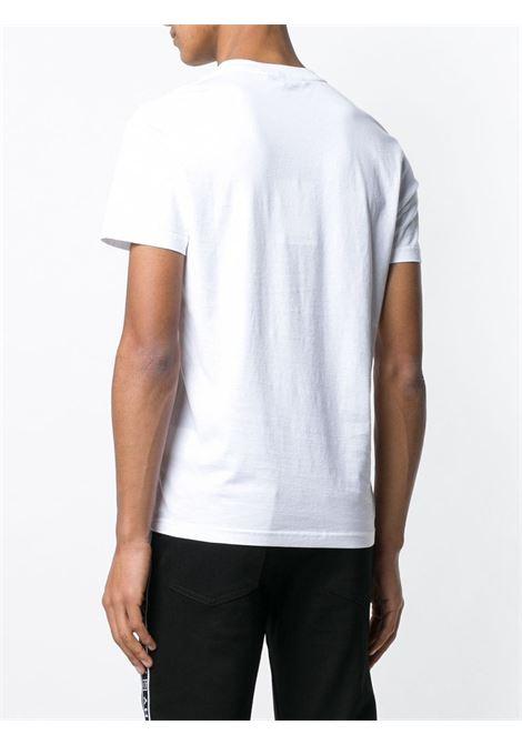 t.shirt bianca con logo Givenchy nero GIVENCHY | T-shirt | BM70K93002100